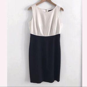 Ivanka Trump midi dress sleeveless size 8